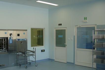 Bau einer Abteilung für Sterilgutversorgung in BYDGOSZCZ